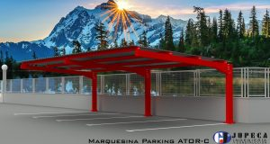Marquesina-parking-parasol