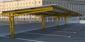 Marquesina-parking-parasol IKER